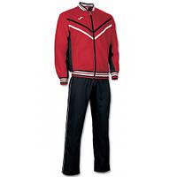 Костюм спортивный Joma Terra черно-красный микрофибра 100068.601