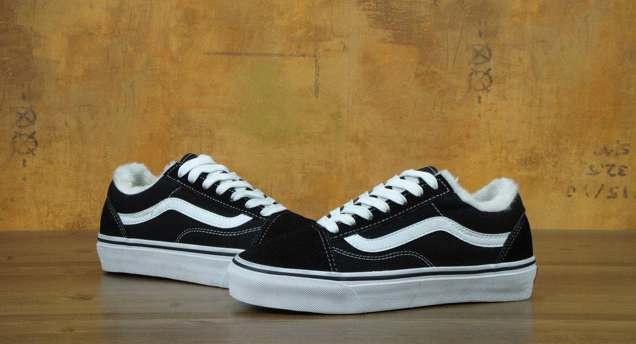 0647f722d33e315 ... фото · Кеды Vans Old Skool Winter Edition Black White 5e93e7184c82d