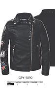 Куртка-косуха черная GLO-STORY