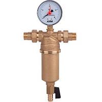 """Самопромывнойфильтр для воды с наружной резьбой 1/2"""" ICMA Арт. 751"""