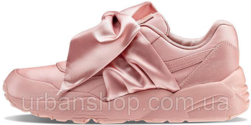 sports shoes c8819 0fd76 Купить Кроссовки женские пума Puma Fenty By Rihanna Bow Sneaker Pink в  Интернет-магазине