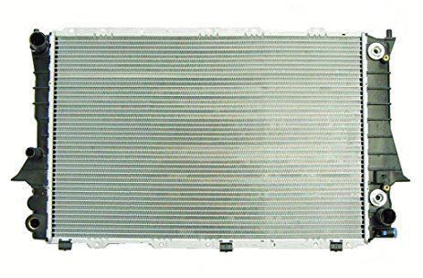 Радиатор охлаждения Audi 100 A6 (91-97) 2.6/2.8 3вых. Автомат 4A0121251H