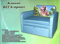 """Кресло - кровать """"Вега - принт"""" 0.8, фото 1"""