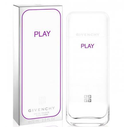Женская парфюмированная вода Givenchy Play for Her Eau de Toilette (Живанши Плей Фо Хер Де Туллет белая) 75ml, фото 2