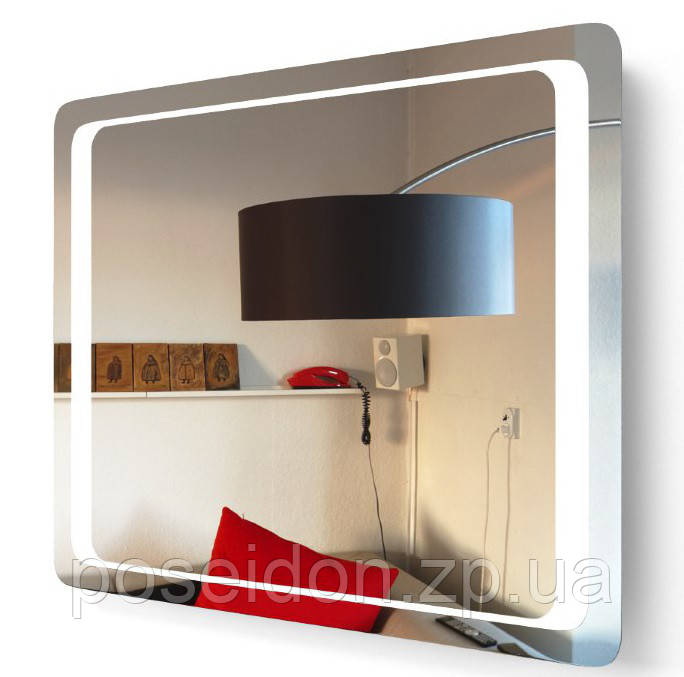 Зеркало Аквародос Омега 100 с LED подсветкой