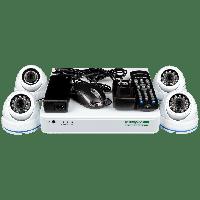 Комплект системи відеонагляду Green Vision GV-K-L06/04 720P