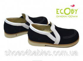 Дитячі шкіряні туфлі Ecoby (Экоби) р. 30 - 20см модель 116BLV