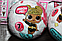 Кукла LOL (ЛОЛ) блестящая серия, белый шар, фото 5