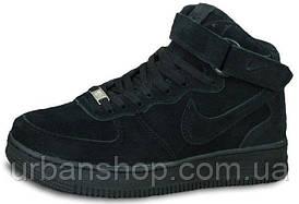Кроссовки мужские Найк Nike Air Force 1 Black