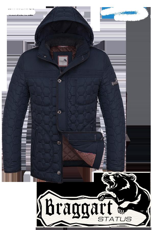 Мужская зимняя куртка Braggart (р. 46-54) арт. 3570D