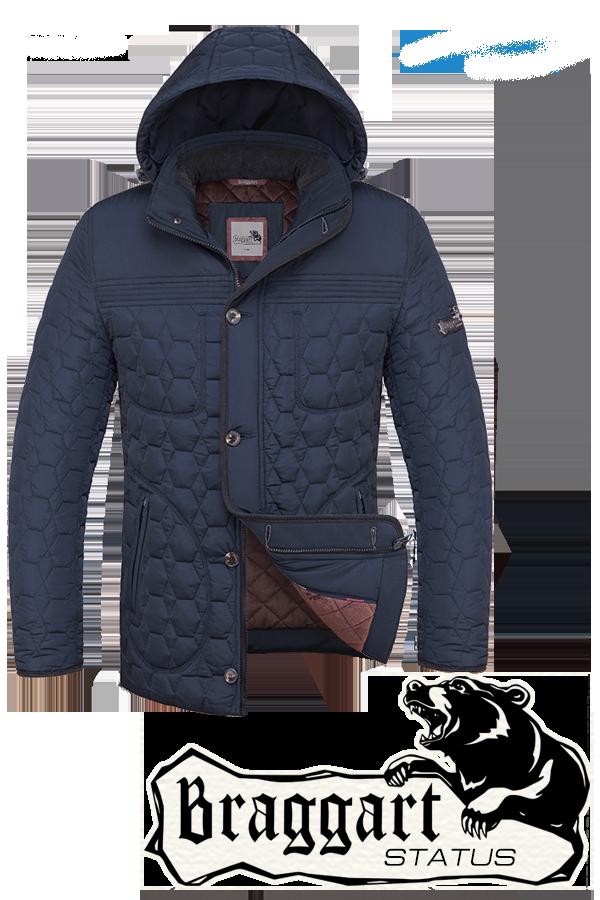 Мужская молодежная зимняя куртка Braggart (р. 46-54) арт. 3570G