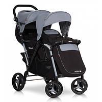Детская коляска прогулочная для двойни EasyGo Fusion Duo