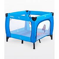 Детская кровать-манеж Caretero Quadra