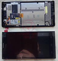 ZTE Blade L2 дисплей в зборі з тачскріном модуль з рамкою чорний