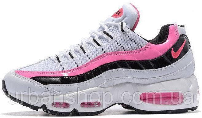 Кроссовки женские Найк Nike Wmns Air Max 95 Essential Pink/White/Black