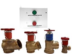 ДППК (датчики положения пожарного крана) и (БУПК) Блок управления пожарным краном