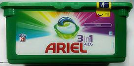 ARIEL COLOR капсулы для стирки цветных вещей 28 шт