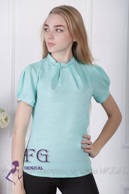 56675375a7a Женская блузка с коротким рукавом