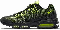 Кроссовки мужские Найк Nike Air Max 95 Ultra Jacquard Green/Black, фото 1