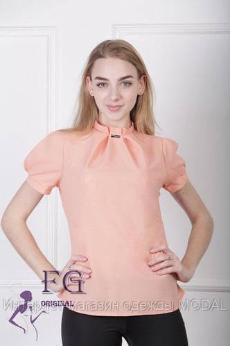 4ac8c40d20e Нарядная женская блуза с коротким рукавом  продажа