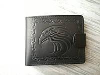 Портмоне мужское черный орел