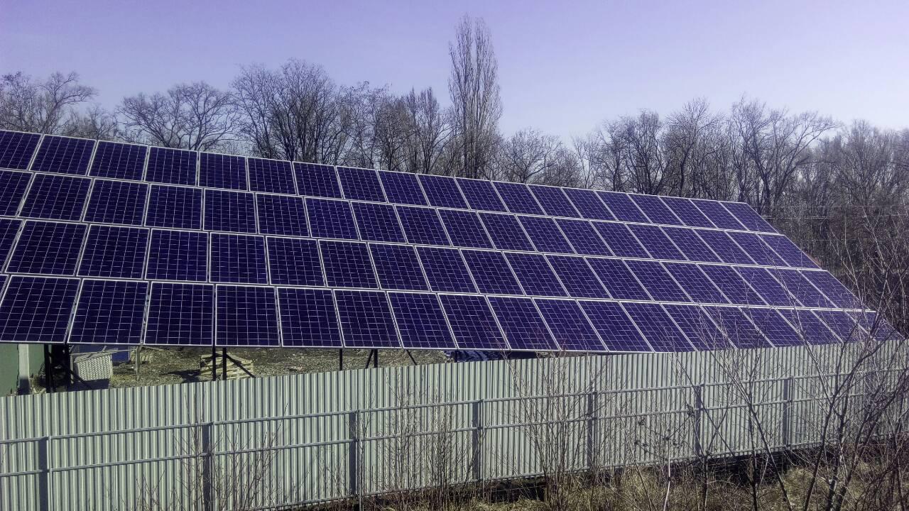 "Сетевая СЭС 20 кВт под ""зеленый тариф"""