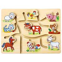 Игра - Подбери головы животным Ферма BINO