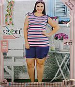 Пижама летняя женская - майка + шорты SEXEN 40132