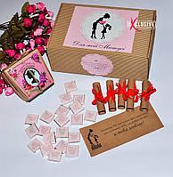 Подарочный крафт набор для мамы.