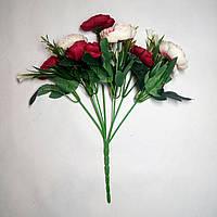 Искусственные цветы Букет Ранункулюс шебби шик (30 см) 5 расцветок