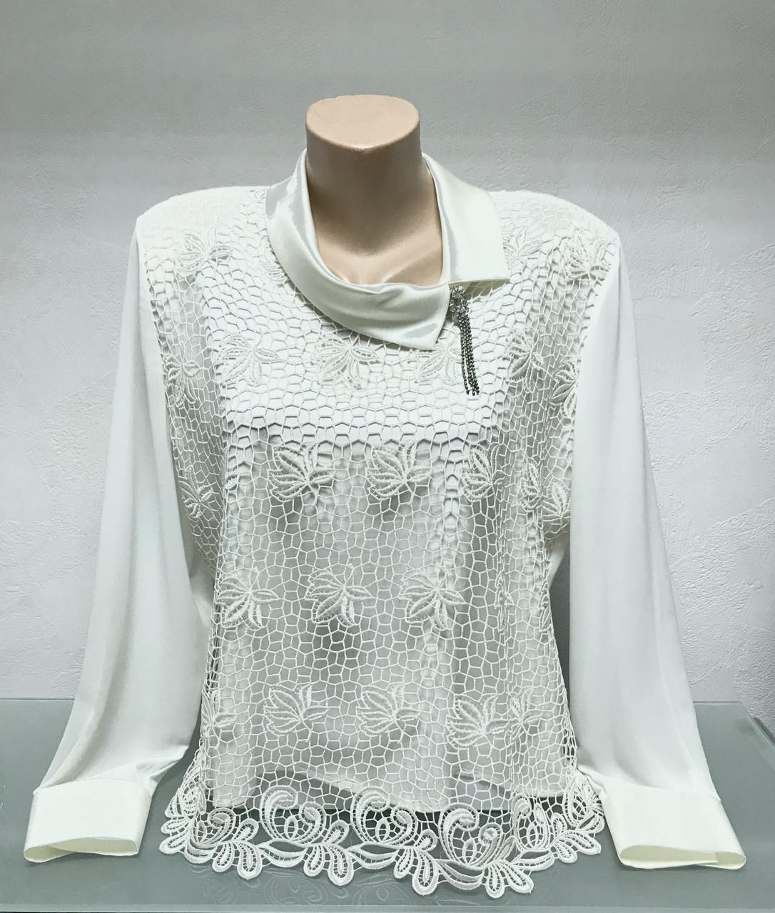 Блуза Fellinaz женская нарядная с рукавом