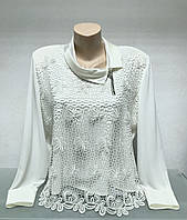 Блуза Fellinaz женская нарядная с рукавом, фото 1