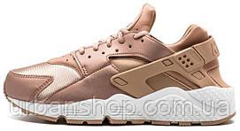 Кроссовки женские Найк Nike Air Huarache Rose Gold