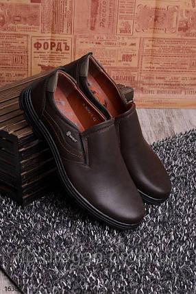 Мужские туфли без шнуровки! в наличии! новые! 40-45 р!, фото 2
