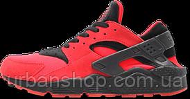Кроссовки мужские Найк Nike Air Huarache UK Red Black