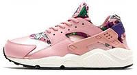 Кроссовки женские Найк  Nike WMNS Air Huarache Run Print Pink, фото 1