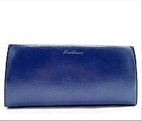 Удобный женский кошелек из искусственной кожи синего цвета BRM-029975, фото 1