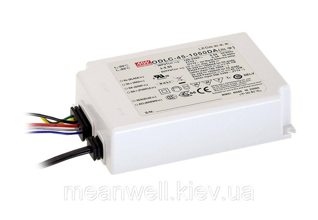 LED драйвер DALI Mean Well ODLC-45-700DA