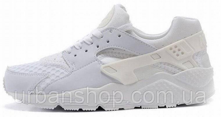 Кроссовки женские Найк  Nike Air Huarache Silver White