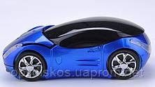 Беспроводная мышка Машинка, синяя, фото 3