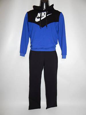 Спортивный костюм подросток с капюшоном 44-46р NIKE реплика 008