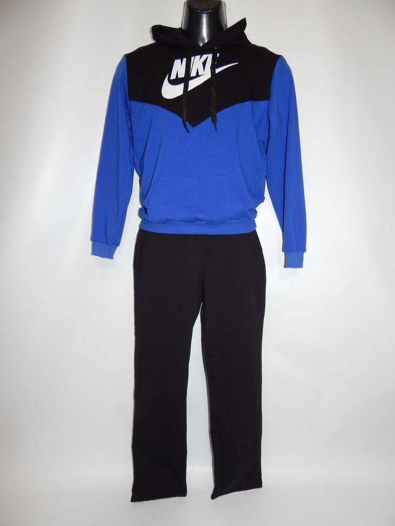 Спортивный костюм подросток с капюшоном 44-46р NIKE реплика 008 -  Интернет-магазин
