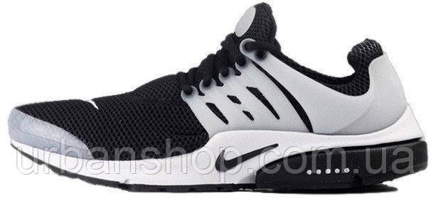 Кроссовки мужские Найк Nike Air Presto Oreo Black/White