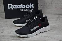 Мужские кожаные кроссовки Reebok 12301 черный