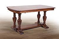Стол деревянный обеденный раскладной, фото 1