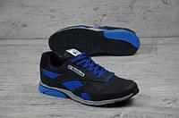 Мужские кожаные кроссовки Reebok 12310 синий