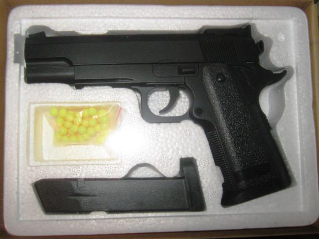 Детский пистолет ZM 26 пластик+металл