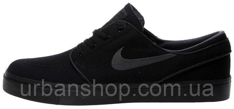 Кроссовки мужские Найк Nike Stefan Janoski Black, кеды