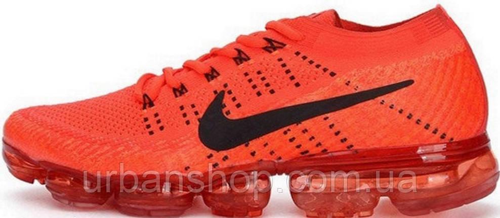 Кроссовки мужские Найк Nike VaporMax FLYKNIT Red