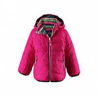 Куртка-пуховик зимняя двухстороняя для девочки Reima 521343, цвет 4620
